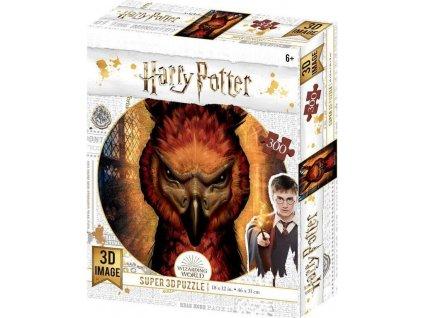 PRIME 3D Puzzle Harry Potter: Fawkes 3D 300 dílků