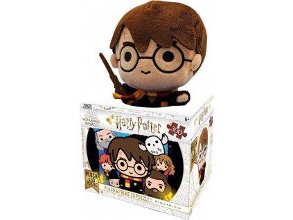 PRIME 3D Puzzle Harry Potter 3D 300 dílků s plyšovou hračkou