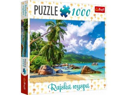 TREFL Puzzle Rajský ostrov 1000 dílků