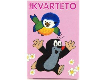 Dětské karty Kvarteto - Krtek a sýkorka