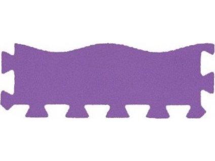 MALÝ GÉNIUS Okrajový dílek vlna silný (fialový)