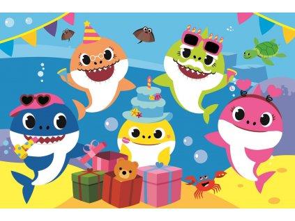TREFL Puzzle Baby Shark: Oslava MAXI 24 dílků