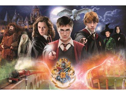 TREFL Puzzle Tajemný Harry Potter 300 dílků