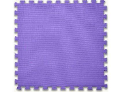 BABY Pěnový koberec tl. 2 cm - fialový 1 díl