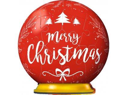 RAVENSBURGER Puzzleball Merry Christmas 56 dílků