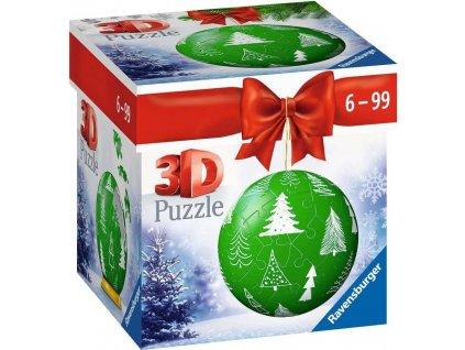 RAVENSBURGER Puzzleball Vánoční stromečky 56 dílků