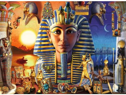 RAVENSBURGER Puzzle Starý Egypt XXL 300 dílků