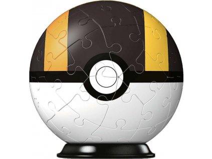 RAVENSBURGER Puzzleball Pokémon: Ultraball 54 dílků