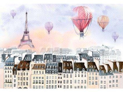 RAVENSBURGER Puzzle Moment: Horkovzdušné balóny 300 dílků