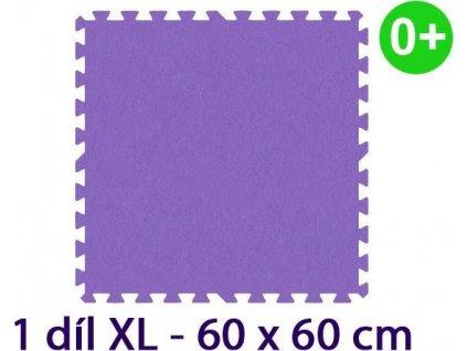 MALÝ GÉNIUS Samostatný díl XL silný 0+ (fialový)