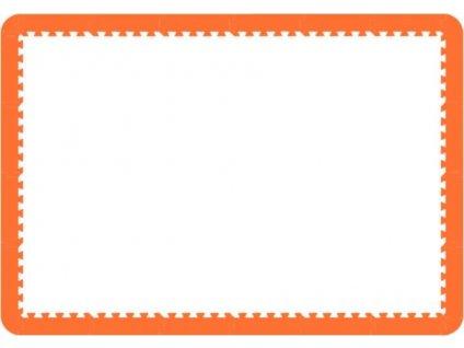 MALÝ GÉNIUS Okraje pro MAXI 24, 8mm (oranžové)