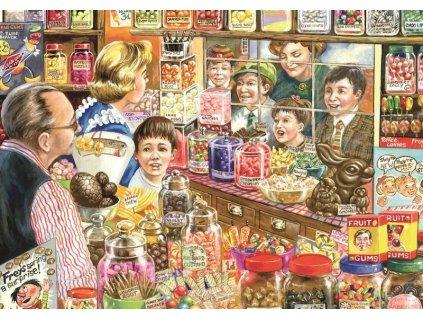 FALCON Puzzle Cukrárna 1000 dílků