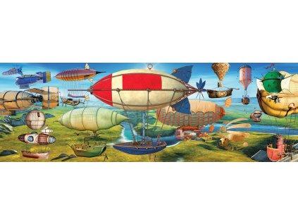 EUROGRAPHICS Panoramatické puzzle Velký závod 1000 dílků