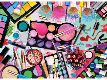 EUROGRAPHICS Puzzle Paleta barev: Makeup 1000 dílků