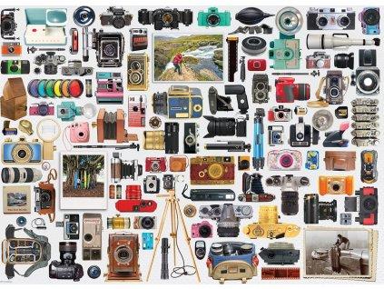 EUROGRAPHICS Puzzle Svět fotoaparátů 1000 dílků