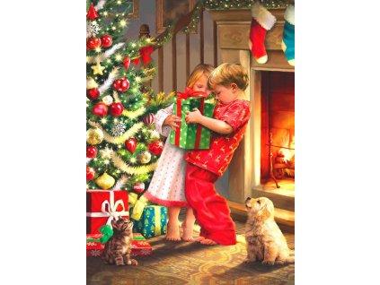 EUROGRAPHICS Puzzle Vánoční překvapení 1000 dílků