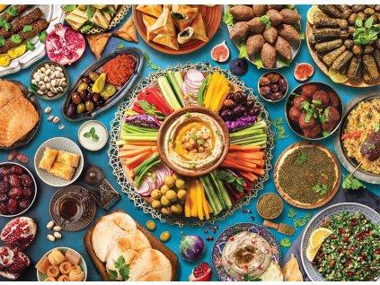 EUROGRAPHICS Puzzle Stůl ze středního východu 1000 dílků