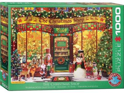 EUROGRAPHICS Puzzle Vánoční obchod 1000 dílků