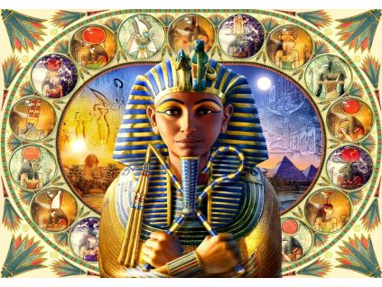 BLUEBIRD Puzzle Tutanchamon 1000 dílků