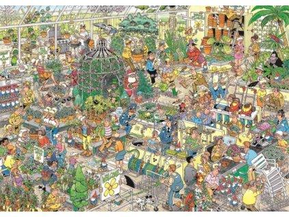 JUMBO Puzzle Zahradní centrum 1000 dílků
