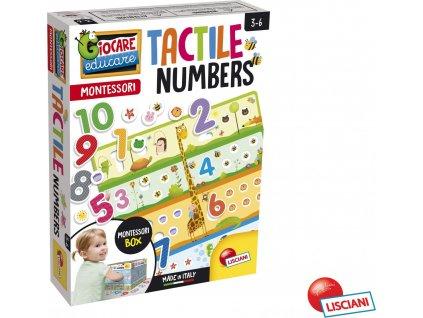 Montessori číslená hra