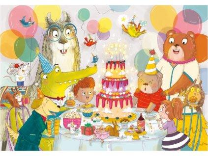 CLEMENTONI Puzzle Všechno nejlepší k narozeninám! 30 dílků