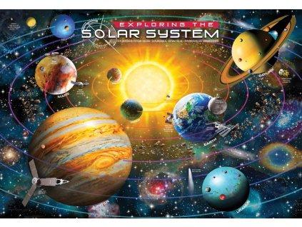 EUROGRAPHICS Puzzle Prozkoumej sluneční soustavu 200 dílků