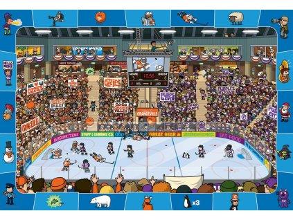EUROGRAPHICS Spot & Find puzzle Hokej 100 dílků