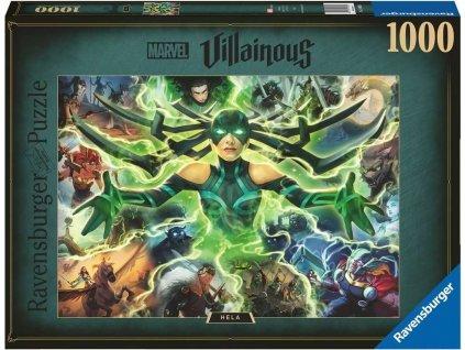 RAVENSBURGER Puzzle Marvel Villainous: Hela 1000 dílků