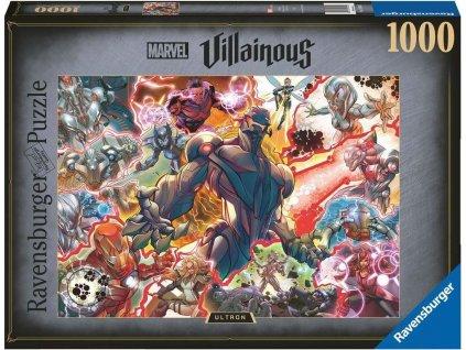 RAVENSBURGER Puzzle Marvel Villainous: Ultron 1000 dílků