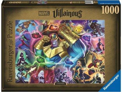 RAVENSBURGER Puzzle Marvel Villainous: Thanos 1000 dílků