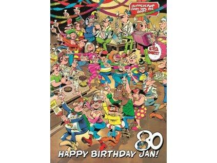 JUMBO Puzzle Všechno nejlepší, Jane! 1000 dílků