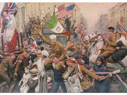 FALCON Puzzle Oslavy příměří r.1918, 1000 dílků