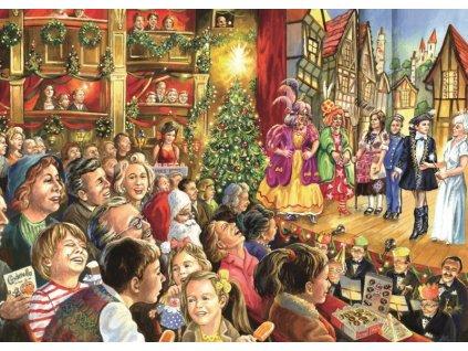 FALCON Puzzle Vánoční pantomima 1000 dílků
