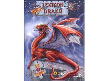 Nakladatelství SUN Kniha s puzzle: Lexikon draků 5x24 dílků