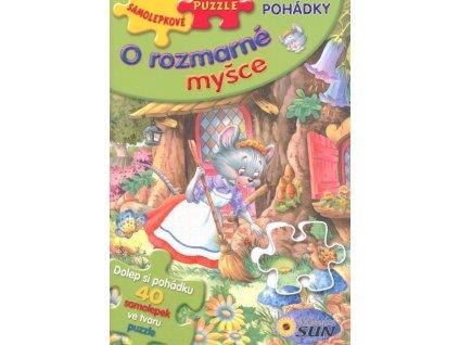 Nakladatelství SUN Samolepkové puzzle: O rozmarné myšce