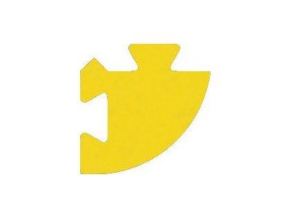 MALÝ GÉNIUS Rohový dílek 8mm (žlutý)