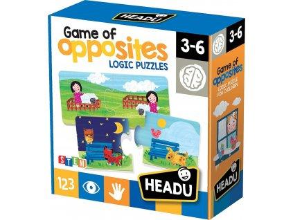 HEADU Puzzle Protiklady 16x2 dílky
