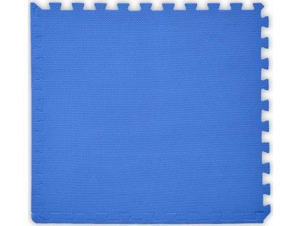BABY Pěnový koberec tl. 2 cm - tmavě modrý 1 díl s okraji