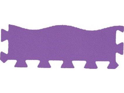 MALÝ GÉNIUS Okrajový dílek vlna 8mm (fialový)