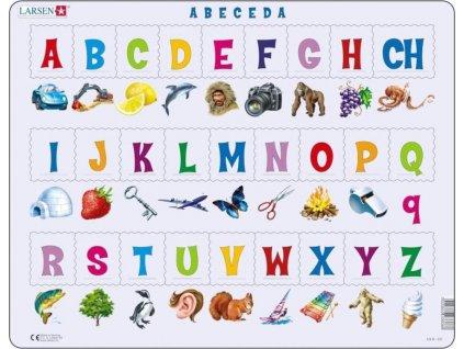 LARSEN Puzzle Obrázková abeceda 27 dílků