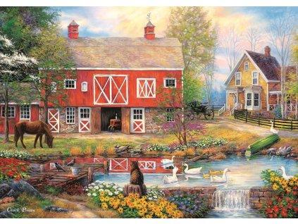 TREFL Puzzle Život na venkově 2000 dílků