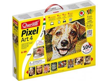 QUERCETTI Pixel Art 4 desky (6.800 ks)