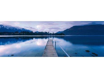 SCHMIDT Panoramatické puzzle Jezero Wakatipu, Nový Zéland 1000 dílků