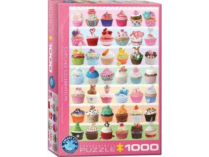 EUROGRAPHICS Puzzle Donuty 1000 dílků