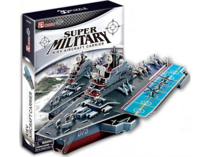 CUBICFUN 3D puzzle Letadlová loď Kyjev 103 dílků