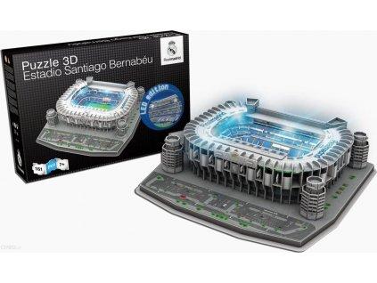 NANOSTAD Svítící 3D puzzle Stadion Santiago Bernabéu - FC Real Madrid
