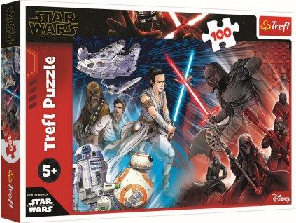TREFL Puzzle Star Wars: Vzestup Skywalkera 100 dílků