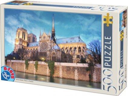 D-TOYS Puzzle Notre Dame, Paříž 500 dílků