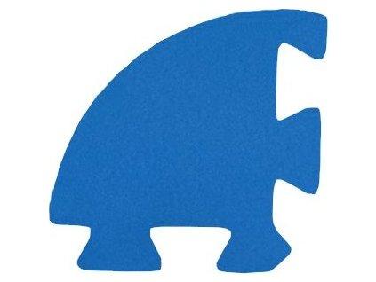 MALÝ GÉNIUS Rohový dílek 8mm (modrý) - pro vlnu